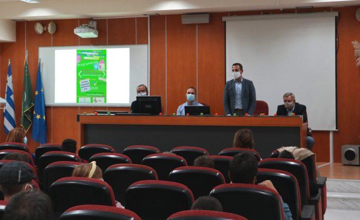 Ο Δήμαρχος Καστοριάς στην εκδήλωση-βράβευση μαθητών