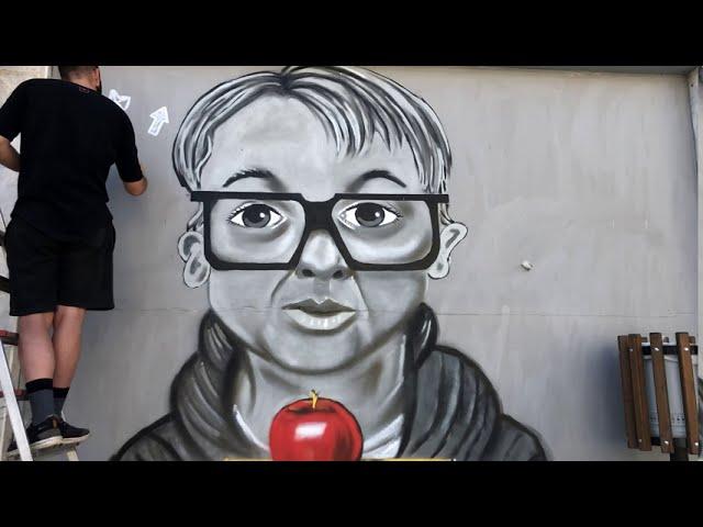Το Εκπληκτικό Grafiti στο Άργος Ορεστικό (video)