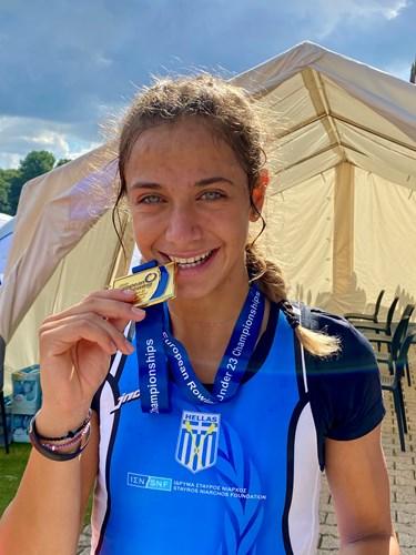 Ο Δήμος Καστοριάς για την Πρωταθλήτρια Ευρώπης Ευαγγελία Αναστασιάδου