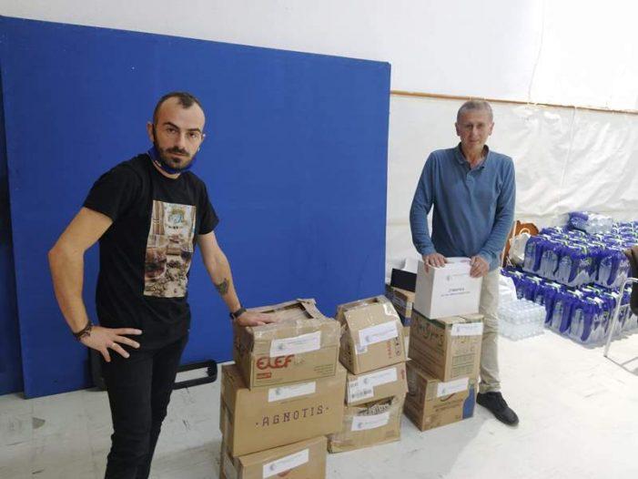 Συνεχίζεται η Συγκέντρωση Τροφίμων για τους Πληγέντες της Καρδίτσας από την Π.Ε. Καστοριάς