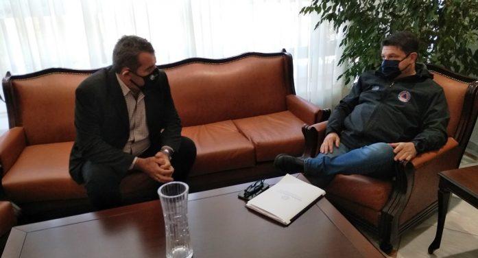 Επίσκεψη του Ν. Χαρδαλιά στην Καστοριά
