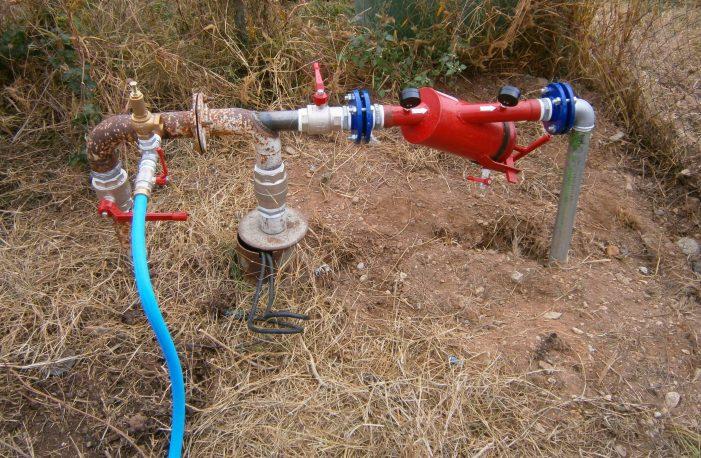 Εγκατάσταση συστήματος υδροληψίας στην Κοινότητα Λεύκης