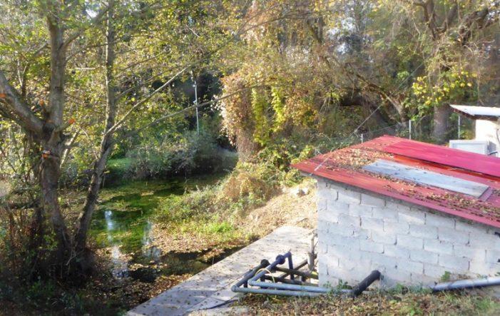 Σε λειτουργία το νέο αντλιοστάσιο ύδρευσης πηγών Μανιάκων