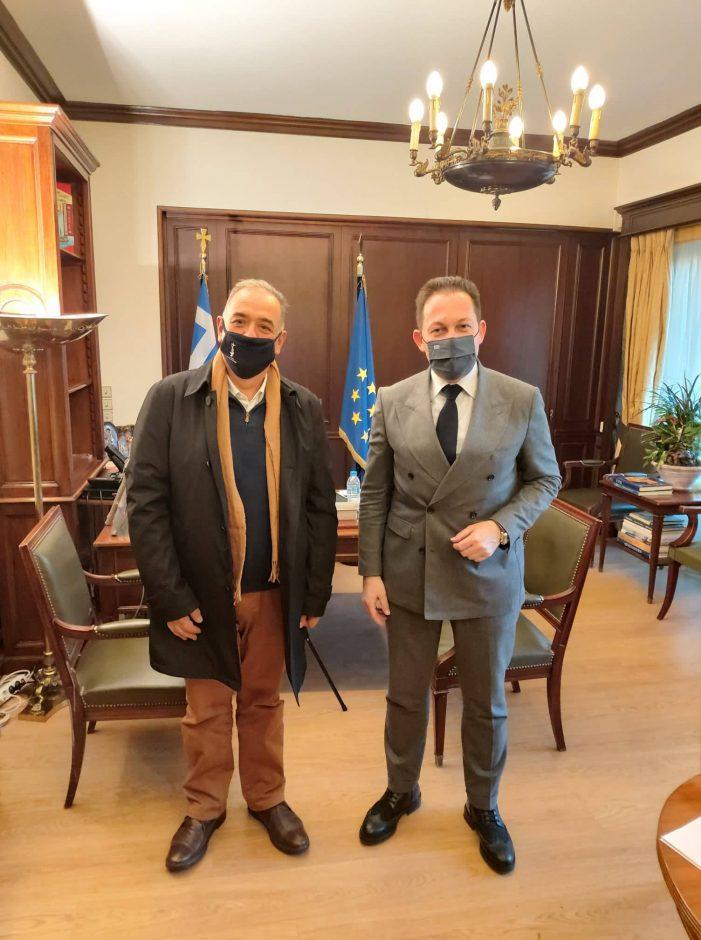 Συνάντηση του Δημάρχου Άργους Ορεστικού με τον Αναπληρωτή Υπουργό Εσωτερικών