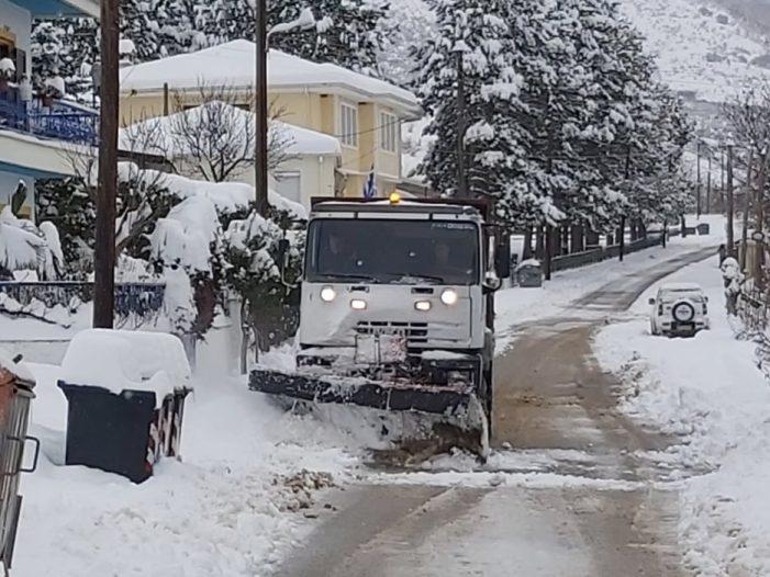 Δήμος Άργους Ορεστικού: Αποχιονισμός δρόμων