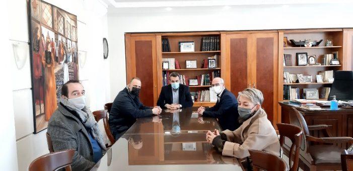 Εθιμοτυπική Επίσκεψη του νέου Προεδρείου της Ομοσπονδίας Γούνας στον Αντιπεριφερειάρχη Καστοριάς