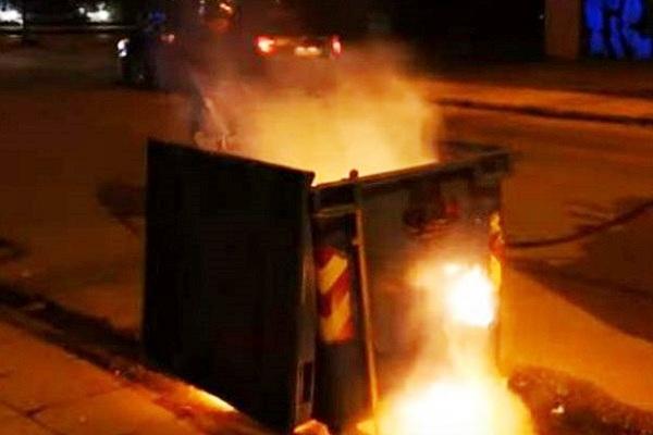Φωτιά σε τρεις κάδους απορριμμάτων: Συστάσεις από τον Αντιδήμαρχο Καθαριότητας του Δήμου Καστοριάς