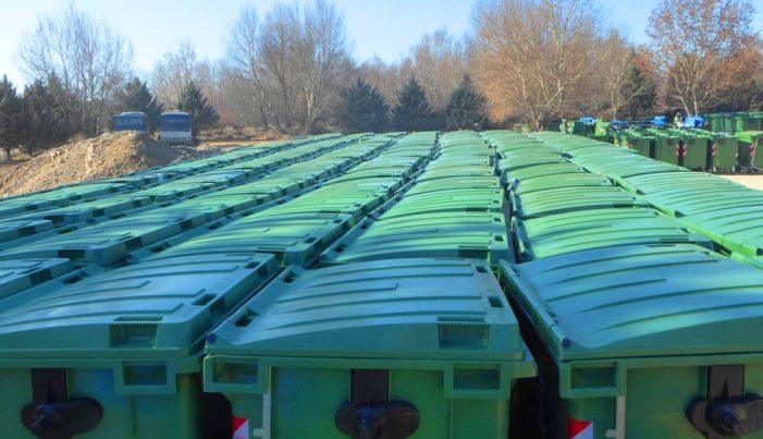 150 νέους κάδους απορριμμάτων και ανακύκλωσης προμηθεύτηκε ο Δήμος Καστοριάς