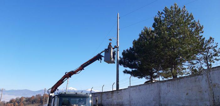 Αποκατάσταση του Ηλεκτροφωτισμού του κόμβου Καστοριάς – Μανιάκων από την Περιφερειακή Ενότητας Καστοριάς