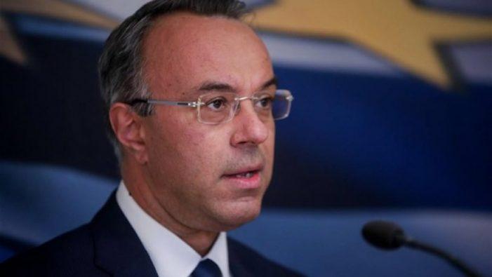 Ο Σταϊκούρας προανήγγειλε παράταση του lockdown και άνοιγμα της οικονομίας στις 22 Μαρτίου