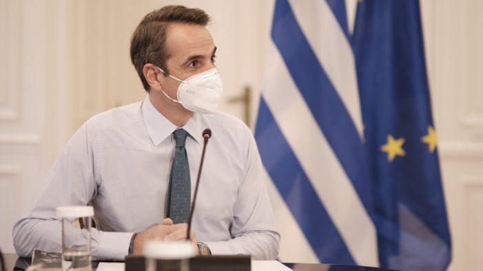 """Κυριάκος Μητσοτάκης: «Αντιμετωπίσαμε 4 """"megafires"""" ταυτόχρονα»"""