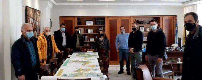 Συνάντηση εργασίας του Αντιπεριφερειάρχη Καστοριάς Δημήτρη Σαββόπουλου με την καθηγήτρια Πανεπιστημίου Δυτικής Μακεδονίας – Τμήμα  Γεωπονίας Φλώρινας Κατερίνας Μέλφου