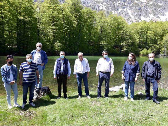 Επίβλεψη Έργων  6,5 εκατ. ευρώ που Υλοποιούνται στην περιοχή του Γράμμου επισκέφτηκε ο ΠΔΜ Γ. Κασαπίδης