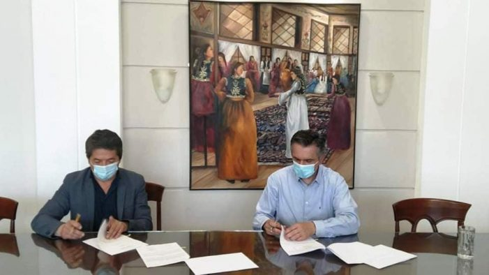Υπεγράφη η Προγραμματική Σύμβαση για την Πιστοποίηση του Καστοριανού Μελιού ως προϊόν Π.Γ.Ε. από τον Περιφερειάρχη Δυτικής Μακεδονίας Γιώργο Κασαπίδη