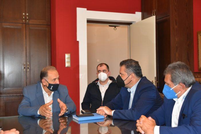Επίσκεψη του Γραμματέα Πολιτικής Επιτροπής Ν.Δ. στον Δήμο Άργους Ορεστικού
