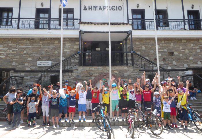 Δήμος Καστοριάς: Με επιτυχία ολοκληρώθηκε η δράση για την Παγκόσμια Ημέρα Ποδηλάτου και την Παγκόσμια Ημέρα Περιβάλλοντος