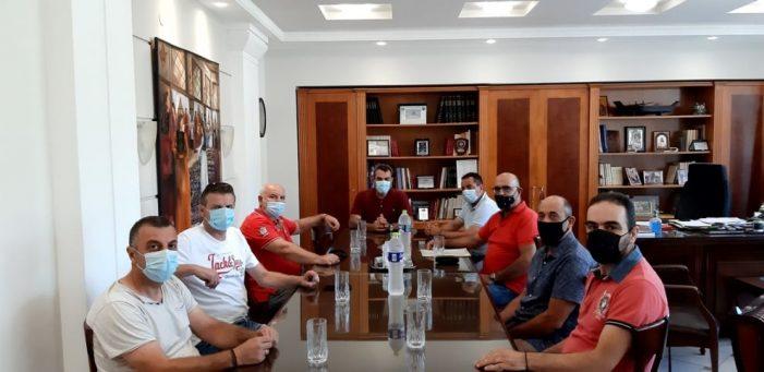 Συνάντηση Αντιπεριφερειάρχη με την Ένωση Συνοριακών Φυλάκων Καστοριάς