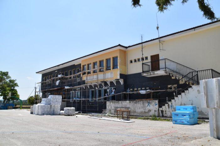 Συνεχίζονται οι εργασίες στο 4ο Δημοτικό Σχολείο Άργους Ορεστικού