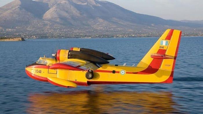 Συνίσταται Αποφυγή Δραστηριοτήτων στην Λίμνη της Καστοριάς λόγω Εκτάκτων Υδροληψιών από Αεροσκάφη της Πυροσβεστικής