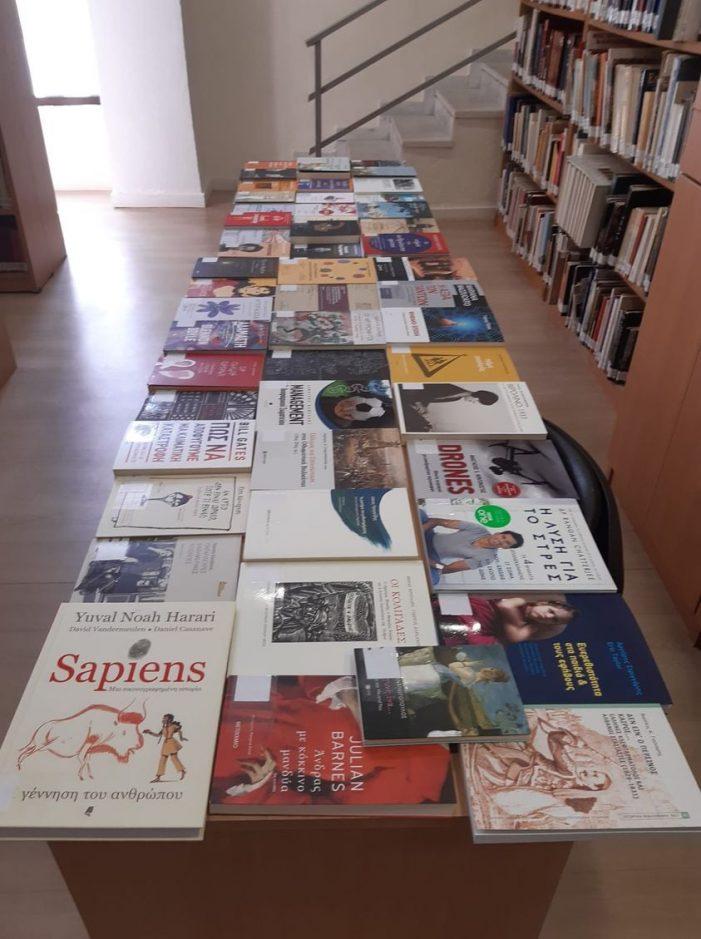 Εμπλουτίζεται με νέες εκδόσεις η Δημοτική Βιβλιοθήκη Καστοριάς με τη σημαντική δωρεά του ιδρύματος Κ.Ι.Κ.Π.Ε