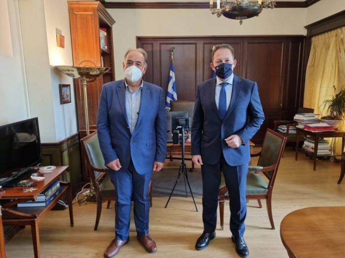 Σειρά συναντήσεων στην Αθήνα για τον Δήμαρχο Άργους Ορεστικού