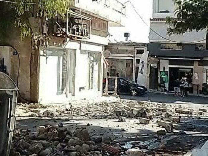 Σεισμός στην Κρήτη 5,8 Ρίχτερ