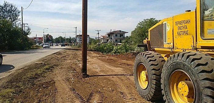 Ολοκληρώθηκε η Απομάκρυνση Επικίνδυνων Δέντρων στο δρόμο Μανιάκοι-Κολοκυνθού από την Π.Ε. Καστοριάς