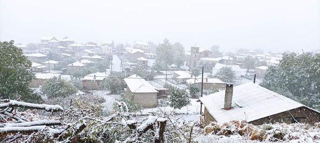 Φωτογραφίες από την χιονισμένη Κοτύλη